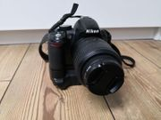 Nikon D3100 inkl 18-55 VR
