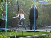 Riesen Trampolin Marke Hudora Durchmesser