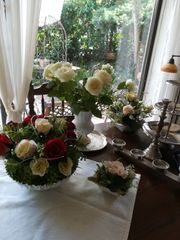 Lass Blumen sprechen Seideblumen Arrangements