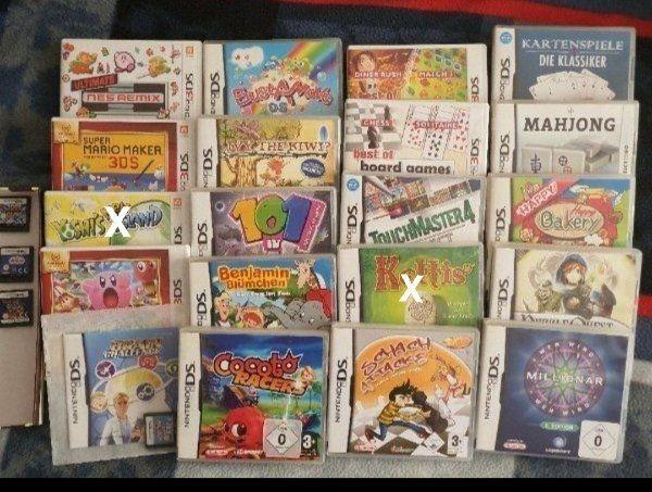 Ds und 3Ds Spiele Siehe
