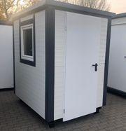 Bürocontainer Gartenhaus Baustellencontainer 2x1 50
