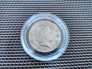 Englische one Pound Münze von