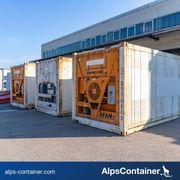 20ft Kühlcontainer Tiefkühlzelle gebraucht nicht