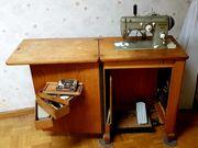Pfaff-Nähmaschine 1960er Jahre elektr nachgerüstet