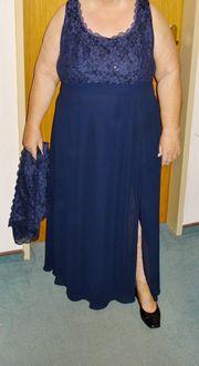 Abendkleid mit Bolero