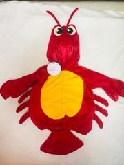 Lobster Baby Kostüm Fasching Karneval