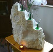 Marmor Skulptur Kunstobjekt Bildhauerarbeit Marmorskulptur