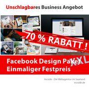 70 RABATT - Facebook Seite Facebook