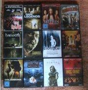 12 verschiedene DVDs