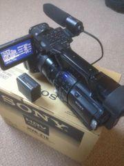 Sony Handycam HVR-Z1E Camcorder - Black