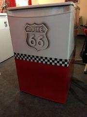 Route 66 Kühlschrank Einzelstück