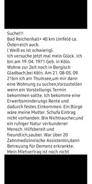 Suche WohnungBad Reichenhall Salzburg