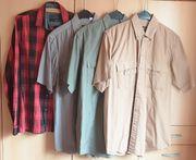 Vier Herrenhemden - Gr 39 40