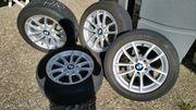 4 Original BMW Alufelgen Kompletträder