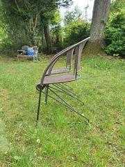 2 Freischwinger Stühle Polyrattan TOP