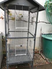 Vogelvoliere zu verkaufen