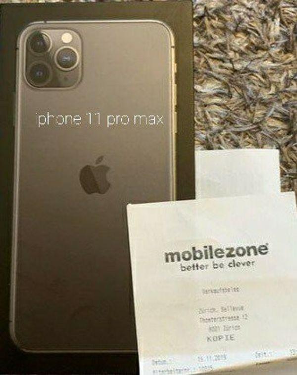 iPhone 11 Pro Max 512 Gb - grau - 1a Zustand
