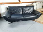 Leder-Couch Zweisitzer