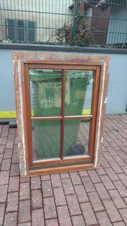 Sprossenfenster gebraucht Meranti ca 84