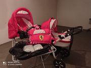 Trio Ferrari Kinderwagen