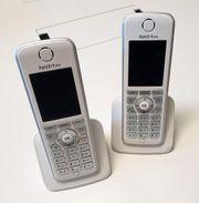 2x Fritz Fon C4 Telefone