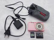 Digitalcamera Exilim rosa ex ZS6