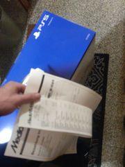 Playstation 5 Disk Edition NEU