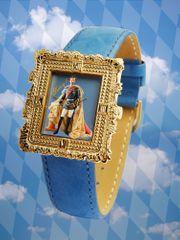 König Ludwig II Armbanduhr Neu