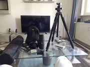 Nikon Kamera Objektiv Stativ Ersatzakku