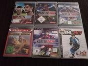 6 x PS 3 Spiele