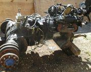 Stapler Motor Vortec V6 Getriebe