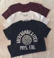 Marken T-Shirts Abercrombie Jungen 13-14