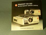 Leica Pradovit 153-253 Projektor Prospekt