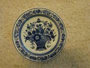 Wandteller Original Blue Delft