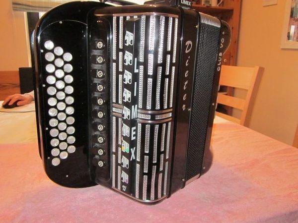 Handharmonika morino Diat Stimmung C
