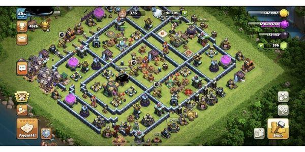 Rathaus 13 - gut ausgebaut - Clash of Clans Account - COC