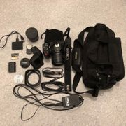 Canon XC10 Set