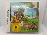 Zelda Spirit Tracks DS Nintendo