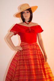 Langes Kleid Abendkleid Ballkleid Biedermeier