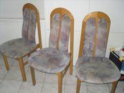 3 Esszimmerstühle Eiche