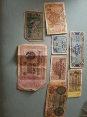 alte Banknoten
