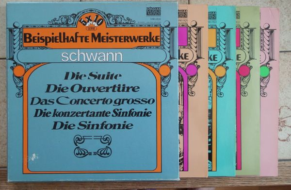 Beispielhafte Meisterwerke 4 LPs Die