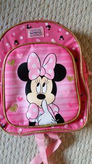 Neu Rucksack Minnie Mouse rosa