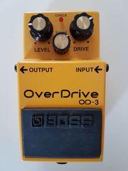 Boss OD-3 Overdrive Effektpedal