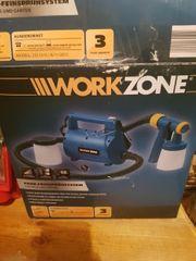 Workzone Farb-Feinsprühsystem