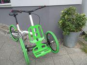 Kiffy Fix Lastenfahrrad Parallelogrammlenkung Vorführrad