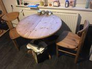 Esstisch mit 2 Stühlen