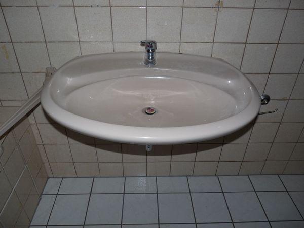 Handwaschbecken bahamabeige