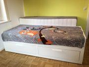 Bettgestell Brimnes Tagesbett zum Doppelbett