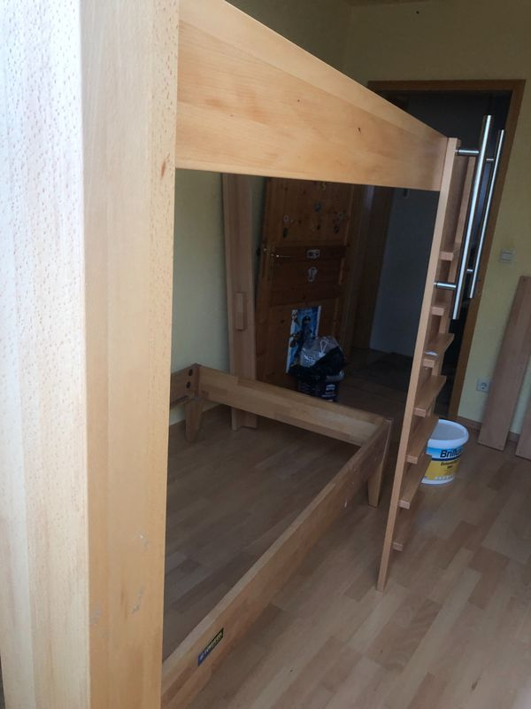 Hochbett Bausatz Buche In Karlsruhe Betten Kostenlose Kleinanzeigen Bei Quoka De
